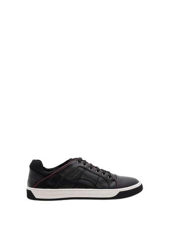 SEMBONIA black Men Microfiber Sneaker 82047SH278948EGS_1