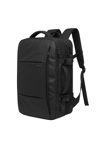 Golden Wolf black Bange Vexus Expandable Laptop Backpack 52334AC627EDE6GS_1