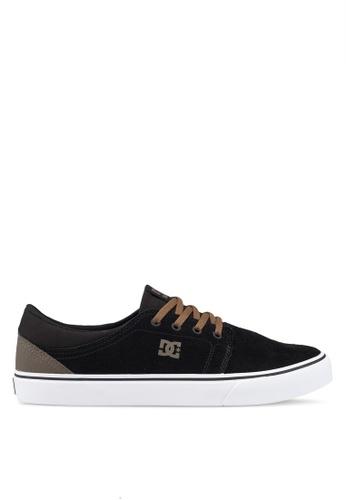 DC Shoes black Trase Shoes 85C49SH82CF033GS_1