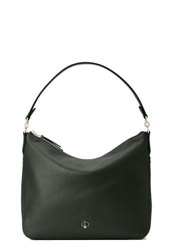 Kate Spade green Kate Spade Polly Medium Convertible Shoulder Bag - Deep Evergreen D59B0AC41BD0A1GS_1