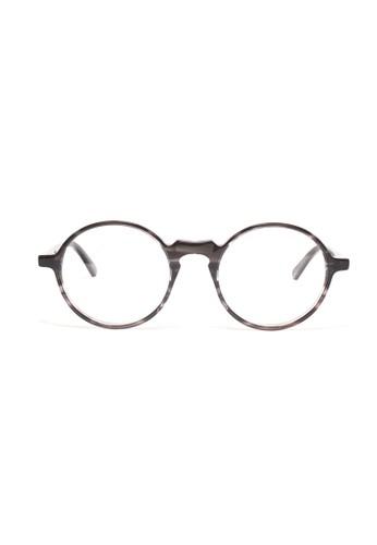 雲石黑色鏡框│復古圓框眼鏡│K1esprit outlet 香港051-C5, 飾品配件, 眼鏡