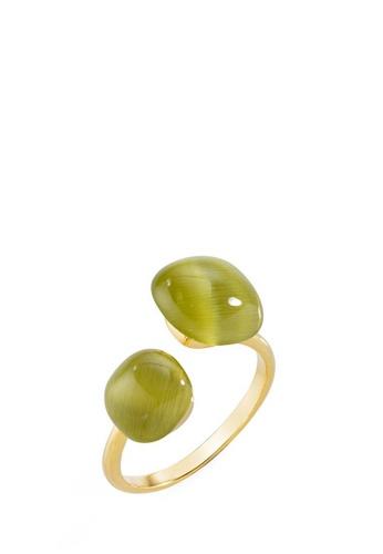 Morellato yellow Gemma Ring SAKK32018 Silver 925 Crystal Cat Eye 65748AC8E42D38GS_1