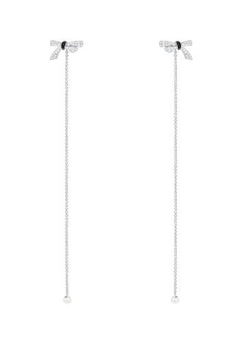 Swarovski silver Mademoiselle Earrings 7F492AC64EC260GS_1
