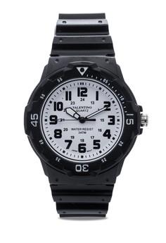 Rubber Strap Analog Watch 20121811