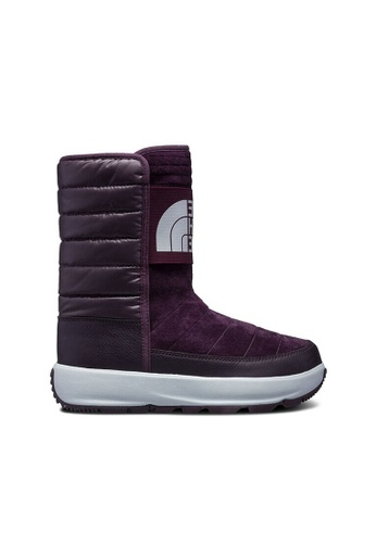 d3c0c92b8 The North Face Women Ozone Park Winter Pull On Winter Boot (Galaxy  Purple/Fig)