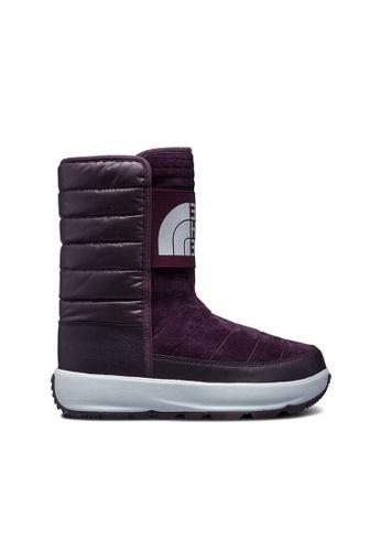 The North Face purple The North Face Women Ozone Park Winter Pull On Winter Boot (Galaxy Purple/Fig) 51B90SH6DE3972GS_1