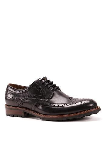 Twenty Eight Shoes 真皮復古雕花德比鞋268-9C 9CCC5SH6CCFDEFGS_1