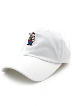 c8c53ded DOSSCAPS white PREMIER Bad Bear Baseball Cap (White) A25D2AC85813A7GS_1