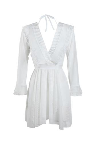 Its Me white (3PCS) Sexy Gauze Bikini Swimsuit 594D9USDD0FCB4GS_1