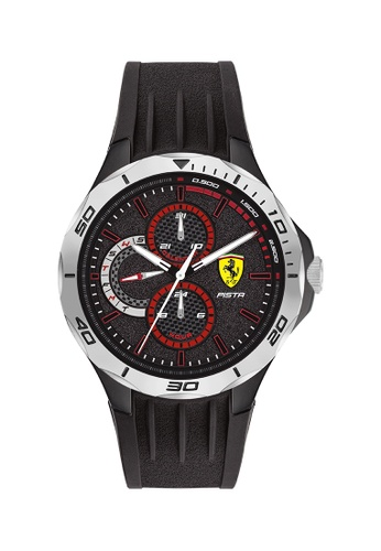 Scuderia Ferrari black Scuderia Ferrari Pista Black Men's Watch (0830722) 886C9AC17024D5GS_1