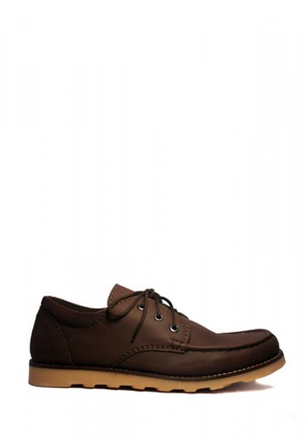 D-Island brown D-Island Shoes Boots Urban Top Leather Brown DI594SH01POWID_1