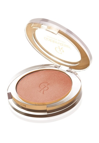 GOLDEN ROSE brown and beige Powder Blush - #7 GO743BE60DXFMY_1