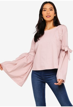 ad4ac121e4d Free People pink So Obviously Yours Top D4B96AAB8A91F5GS_1