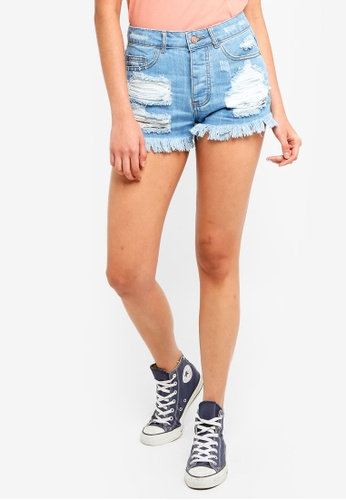 Supre blue The Riverside Shorts 35ACCAAB328C6DGS_1