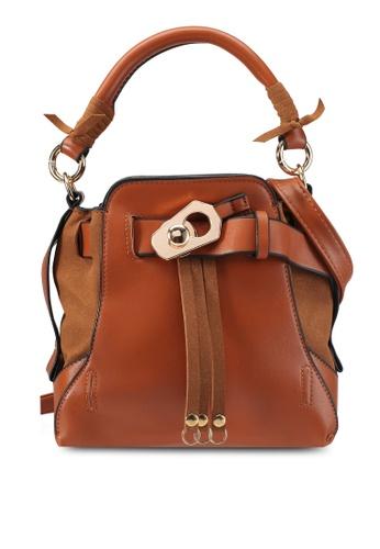 Papillon Clutch brown Petite Bucket Bag PA491AC0SZ2GMY_1