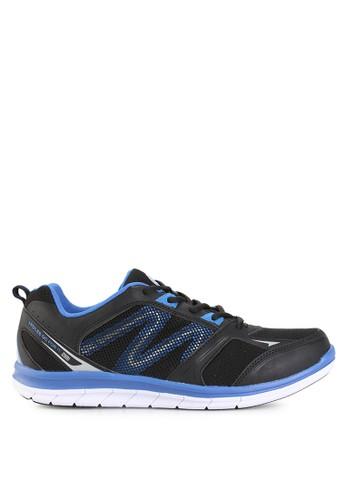 Ardiles black Men Bosworth Running Shoes AR073SH0UM24ID_1