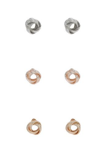ALDO multi Jeraevian Pierced Earrings B5D51AC92C7540GS_1