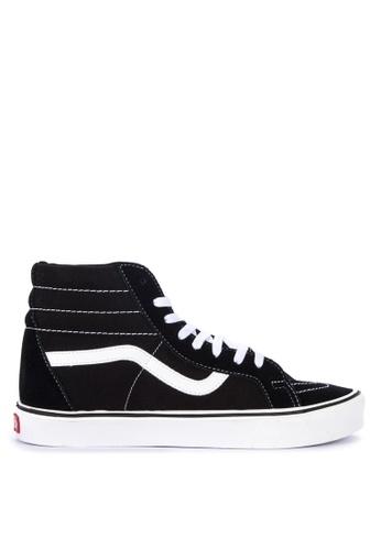 VANS black Suede/Canvas Sk8-Hi Lite + Sneakers 16140SH7137E1AGS_1
