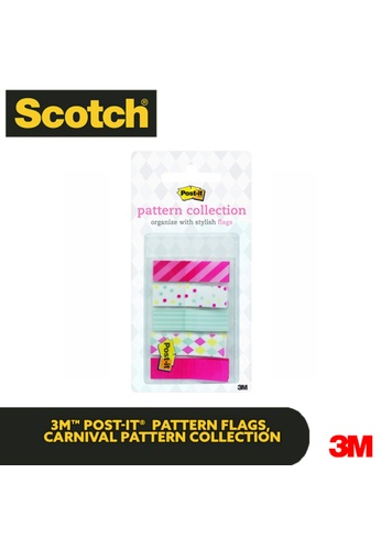 Post-IT 3M Post it Flags - Carnival Pattern Collection 7F938HL5059CECGS_1