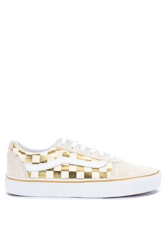 027e64f41e Shop VANS Checkerboard Ward Sneakers Online on ZALORA Philippines