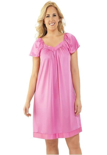 Naturana Flutter Sleeve Evening Gown 7C3A2AAA164BB3GS_1