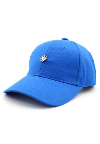 DOSSCAPS blue HATER Gold Leaf Stud Cap (Blue) 6CFF8AC9A7EAEAGS_1