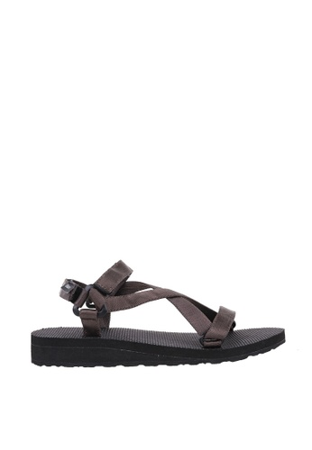 EKAN brown Hameln Sandals EK228SH0FILSSG_1