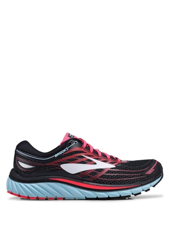 Brooks black Glycerin 15 Shoes 50D4DSHAF9B473GS_1