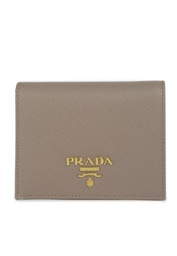 Prada beige Card Holder 58EE2AC2D5B282GS_1