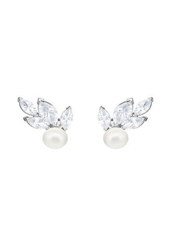 Swarovski white Louison Pearl Pierced Earrings 2A489ACC63151CGS_1