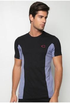 Cotton Slub Jersey Combi with Logo