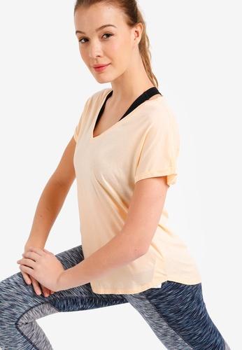 Cotton On Body orange Rolled Sleeve Gym T-Shirt 26700AA466CF5FGS_1