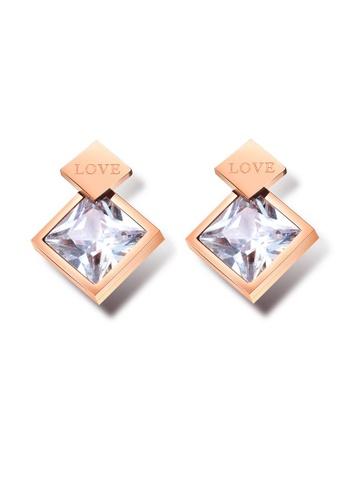 ADORA gold Rose Gold Earrings AE4EAAC3981AEAGS_1