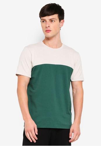 Topman 綠色 刺繡T恤 47816AA46C3836GS_1