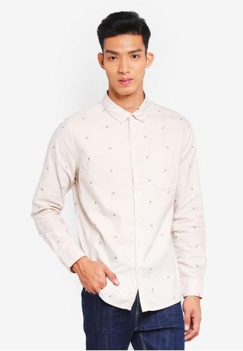 Cotton On 白色 Brunswick Shirt 9F222AA7082097GS_1