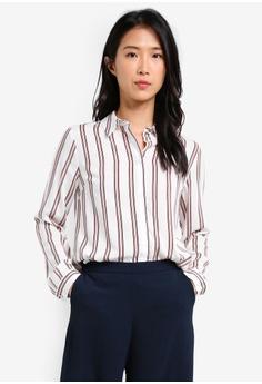 Ivory Stripe Spun Shirt