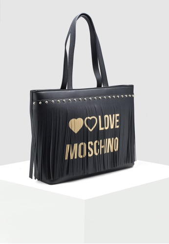 LOVE MOSCHINO logo zipped tote with button的圖片搜尋結果