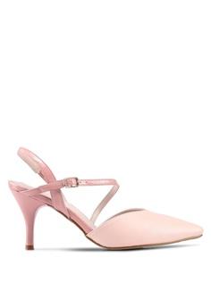737be87dc01 DMK pink Sexy Pointed Heel Pumps 13130SH55B4DEFGS 1