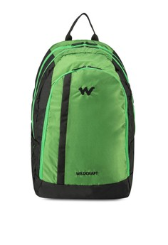 Roh Green Laptop Backpack