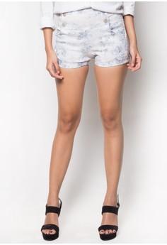 Hot Floral High-waist Shorts
