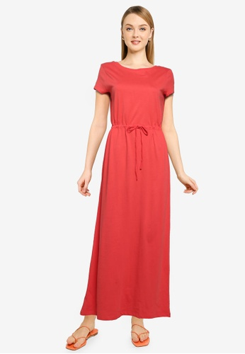 ONLY red May Life String Maxi Dress 4ECEBAA69311C8GS_1