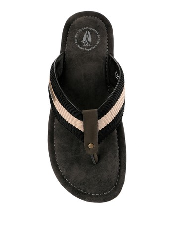 Hush Puppies grey Plainville 3 Thong 08232SHE0D3004GS_1