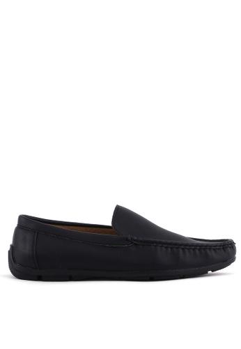 7soles black Nash Smart Casual Shoes 6B0DFSHD0D9A49GS_1
