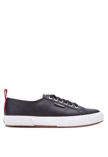 Superga black 2750-FGLU Sneakers SU138SH20GSHPH_1