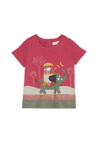 Du Pareil Au Même (DPAM) red Savannah T-Shirt FF642KAAC69F03GS_1