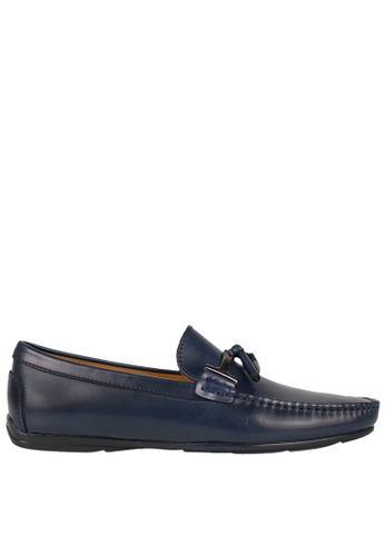Tomaz blue Tomaz C339 Buckled Tassel Loafers (Navy) A60C9SH6AA11A5GS_1