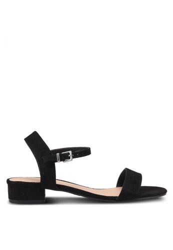 Dorothy Perkins black Widefit Black Spirit Sandals 7A3A7SH0C09EE8GS_1