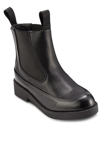 側彈性帶短靴, 女鞋,esprit招聘 鞋