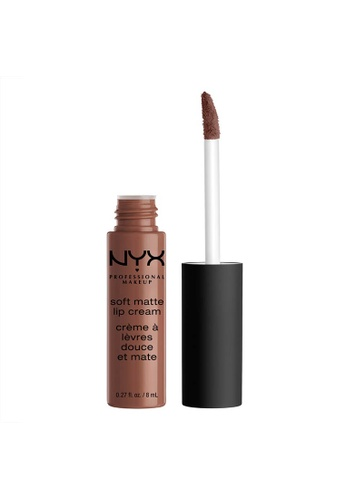 NYX Professional Makeup brown NYX Professional Makeup Soft Matte Lip Cream - LOS ANGELES A4AD9BE6277A4DGS_1