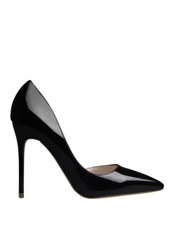 Twenty Eight Shoes 黑色 單邊通幫晚裝及新娘鞋 VP-6385 A91A7SHAEA2A83GS_1